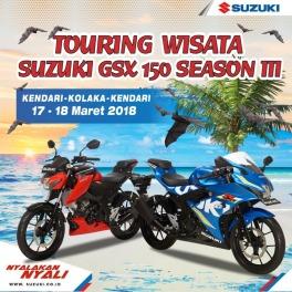 Lagi, PT Sinar Galesong Mandiri (SGM) Gelar Touring Wisata Suzuki GSX 150 Season III (1)
