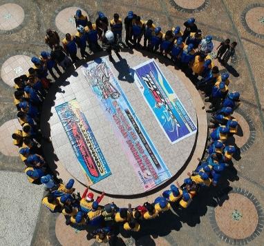 Lagi, PT Sinar Galesong Mandiri (SGM) Gelar Touring Wisata Suzuki GSX 150 Season III (2)