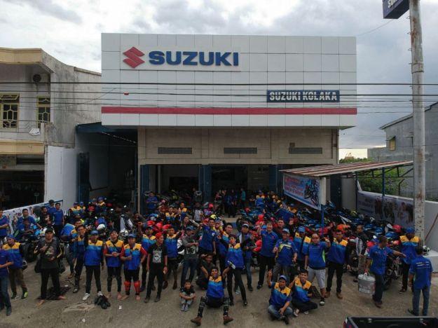 Lagi, PT Sinar Galesong Mandiri (SGM) Gelar Touring Wisata Suzuki GSX 150 Season III (4)