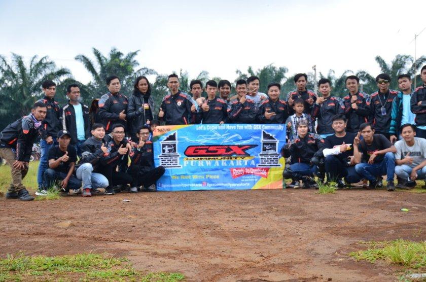 Ratusan Bikers Meriahkan 1st Anniversary GSX Community Nusantara di Subang, Jawa Barat (1).JPG
