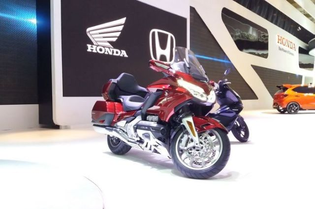 AHM Rilis Honda Goldwing Tour DCT, Harga 1 M Lebih