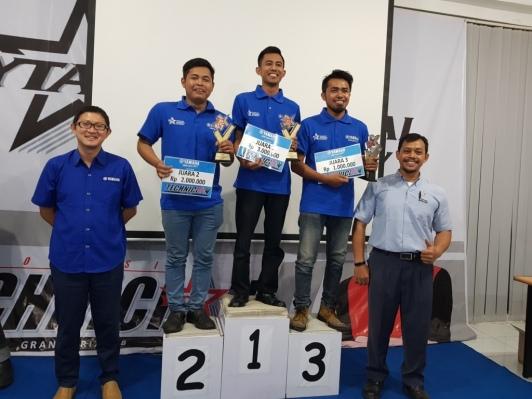 Finalis Mekanik Yamaha Mandiri 2018