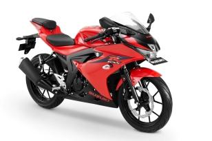 GSX-R150 Shuttered Key - Stronger Red-Solid Black