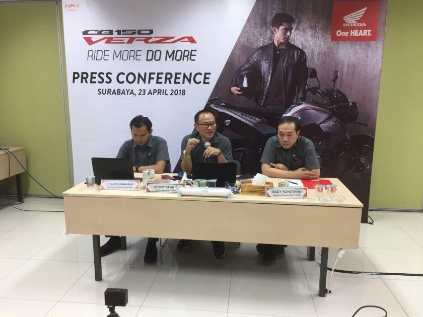 Honda New CB150 Verza Sapa Warga Jatim, Harga Mulai 19 Jutaan (1)