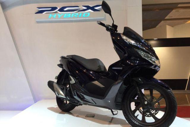 IIMS 2018, AHM Luncurkan Honda PCX Hybrid
