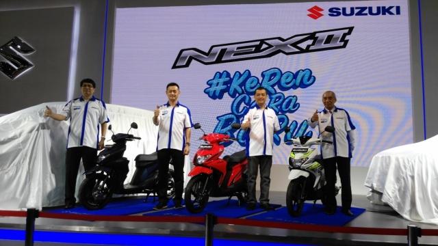 Launching Suzuki NEX II Tahun 2018