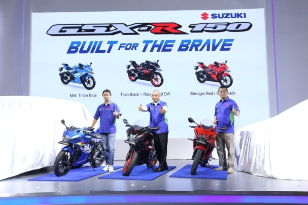 Suzuki Luncurkan Warna Baru GSX-R150 di IIMS 2018 (2)