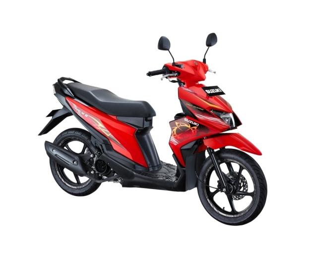 Suzuki NEX II Fancy Dynamic Stronger Red