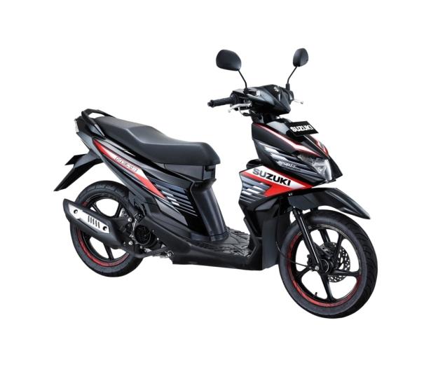 Suzuki NEX II Sporty Runner Titan Black