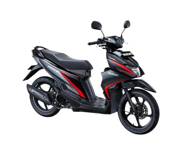 Suzuki NEX II Standard Titan Black