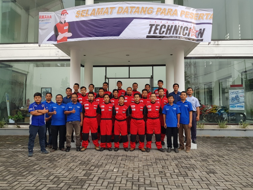 Yamaha DDS Mandiri Seleksi Mekanik Handal Untuk ITGP 2018 (1)
