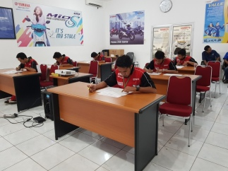 Yamaha DDS Mandiri Seleksi Mekanik Handal Untuk ITGP 2018 (2)