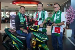 Edisi Khusus, All New Honda Vario 150 Tahun 2018 Livery Persebaya Karya MPM Honda Jatim (2)