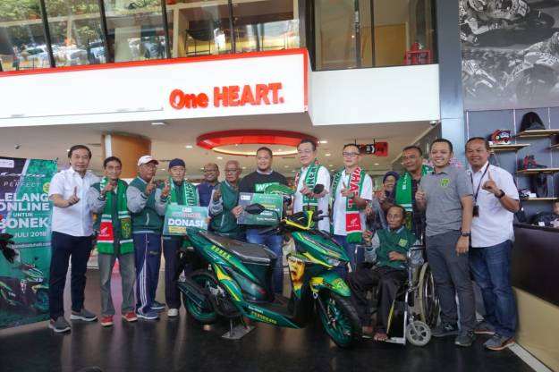 Edisi Khusus, All New Honda Vario 150 Tahun 2018 Livery Persebaya Karya MPM Honda Jatim (3)