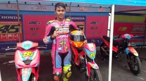 Optimis, MPM Honda Shakespeare Targetkan Podium di Kejurnas Motoprix Malang 2018