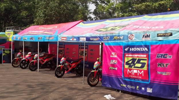Optimis, MPM Honda Shakespeare Targetkan Podium di Kejurnas Motoprix Malang