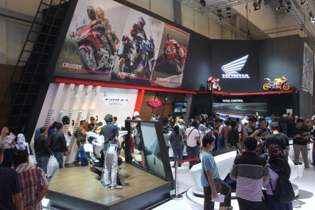 Laris Manis, 1.000 Motor Honda Terjual di GIIAS 2018