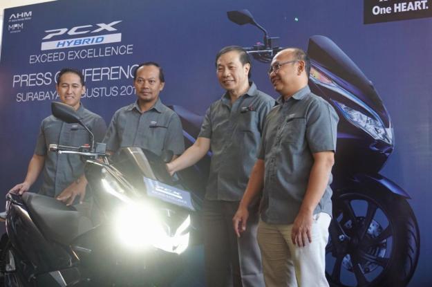 MPM Rilis Honda PCX Hybrid di Jawa Timur, Harga 41 Jutaan