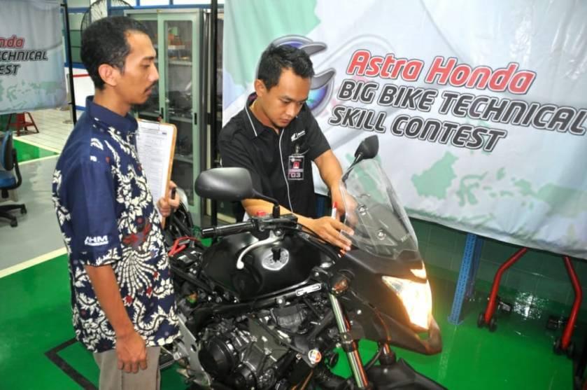 Uji Keterampilan Teknisi Honda, Upaya AHM Berikan Layakan Terbaik Untuk Konsumen Honda