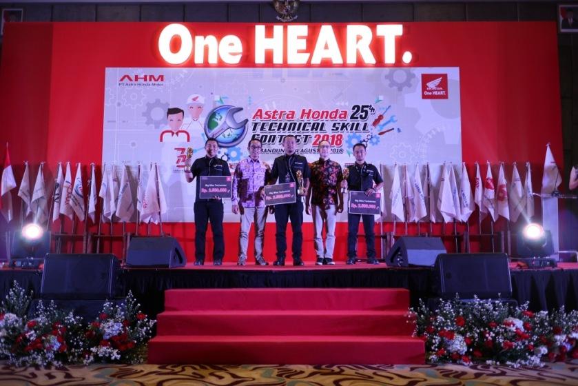 Uji Keterampilan Teknisi Honda, Upaya AHM Berikan Layakan Terbaik Untuk Konsumen