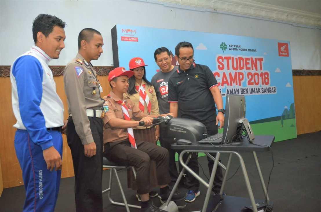 YAHM Student CampSapa Jatim, Perluas Program Road Safety Campaign Untuk Pelajar