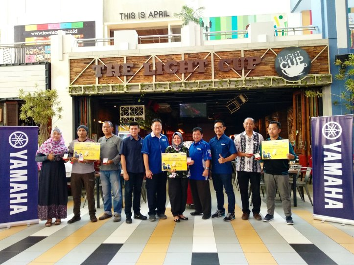 Beruntung, 11 Pengguna Lexi Terima THR Emas dari Yamaha Jatim (STSJ)