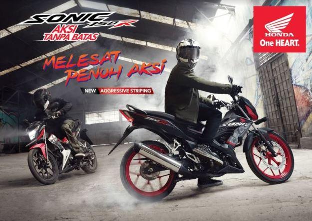 Tampilan Baru Honda Sonic 150R Tahun 2018, Harga 22 Jutaan (2)