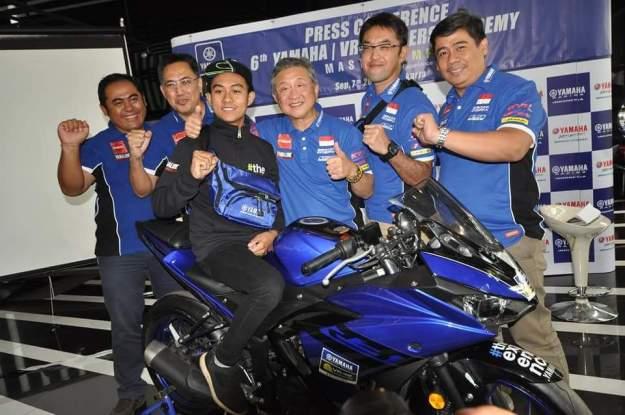 Yamaha Indonesia Kirim Faerozi Berguru ke Valentino Rossi di Italia.