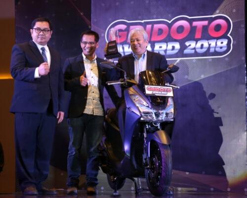 Petinggi Yamaha Raih Predikat Sebagai Man of The Year 2018 (2)