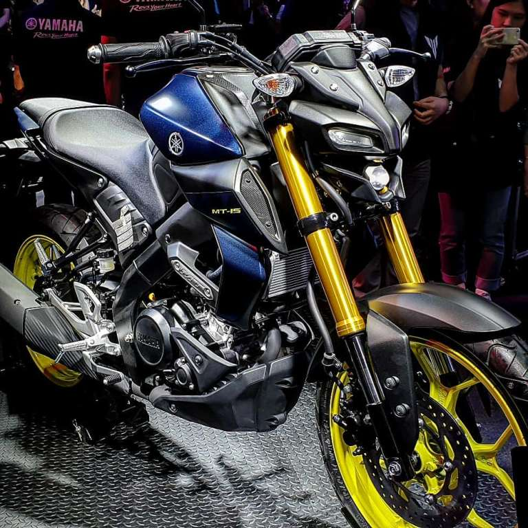 Yamaha Thailand Resmi Rilis MT-15 Tahun 2019 (4)