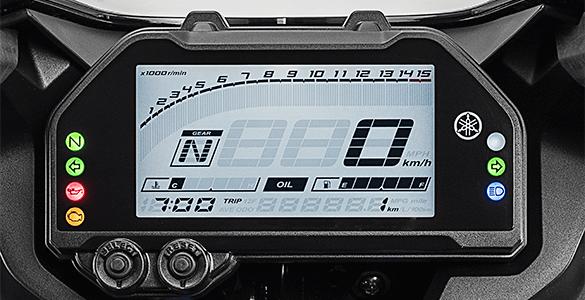 Full LCD Speedometer Yamaha R25 Facelift 2019