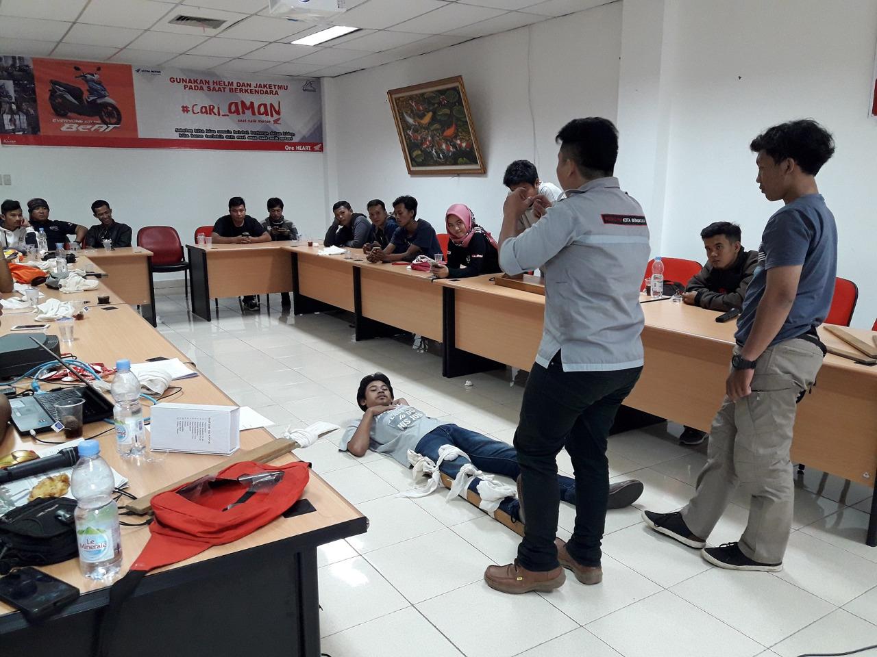 Jelang Satu Dekade HBD 2018, AHM Berikan Pelatihan Keselamatan Untuk Bikers Indonesia.