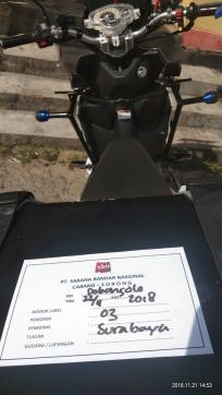Naik Suzuki NEX II, Bikers Papua ini Nekat Solo Touring Hingga Jakarta (4)