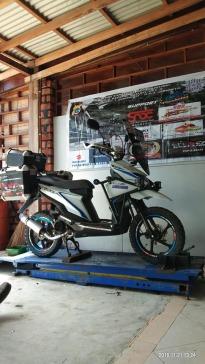 Naik Suzuki NEX II, Bikers Papua ini Nekat Solo Touring Hingga Jakarta (5)