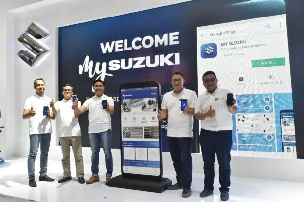 Permudah Konsumen, Suzuki Rilis Aplikasi Aplikasi E-Commerce untuk Suku Cadang Resmi