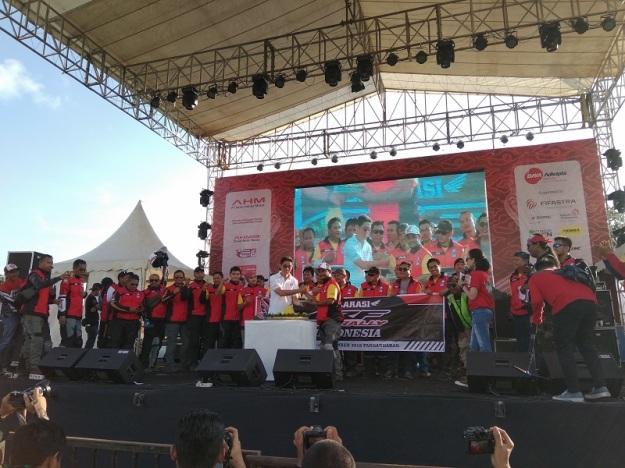 Spesial, Komunitas CRF250 Rally Indonesia Lakukan Deklarasi di Honda Bikers Day 2018 (1)