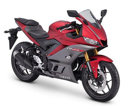 Yamaha R25 Facelift 2019 Matte Red