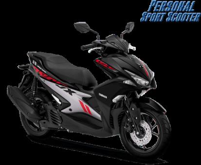 Aerox 155 VVA 2019 Black