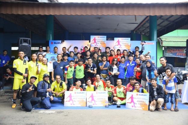 Perdana, Suzuki Gelar Kompetisi Futsal Untuk Komunitas (2)