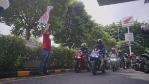 Perekat Persaudaraan, MPM Gelar Touring Gabungan Komunitas CBR 250 RR se-Jatim (5)