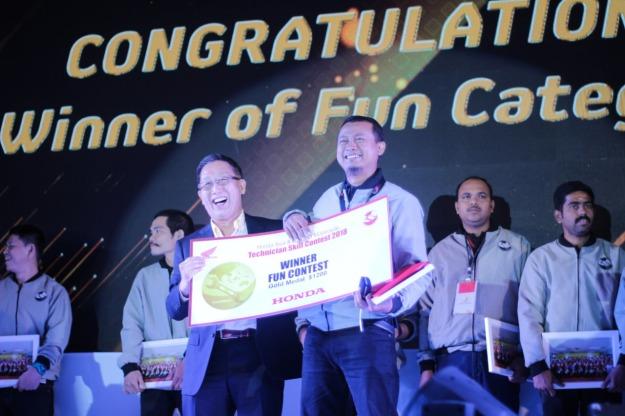 Teknisi MPM Raih Gelar Juara di ajang Honda Asia- Ocenia Motorcycle Technician Skill Contest 2018 (1)