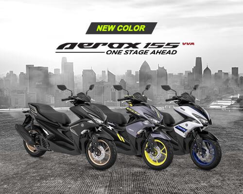 Yamaha Luncurkan Warna Baru Aerox 155 VVA, Berikut Harga, Warna dan Spesifikasi Lengkapnya
