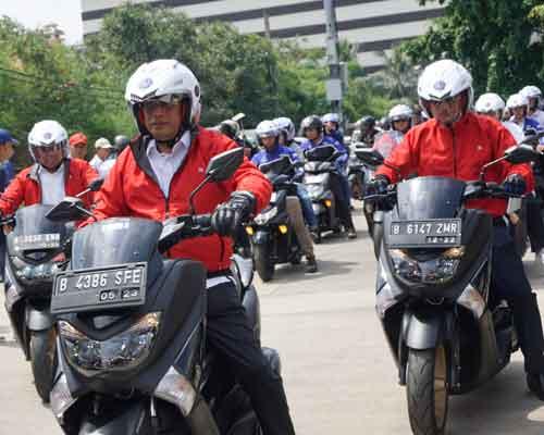 gandeng kemenhub, yamaha indonesia sosialisasikan keselamatan berkendara
