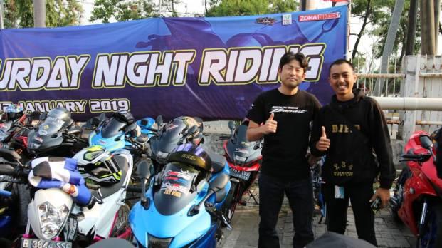 suzuki spesial day, riding malam hari, csr hingga delarasi gsx bandit community indonesia. (1)