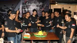 suzuki spesial day, riding malam hari, csr hingga delarasi gsx bandit community indonesia. (7)