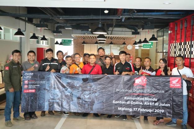 Agenda Tahunan, MPM Gelar Workshop Jurnalistik dan Social Media Untuk Komunitas Honda Jatim (1)