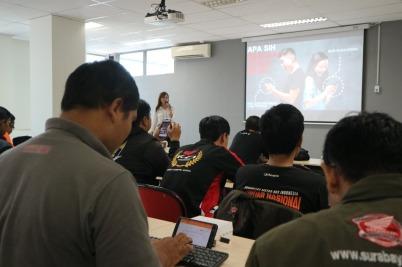 Agenda Tahunan, MPM Gelar Workshop Jurnalistik dan Social Media Untuk Komunitas Honda Jatim (2)