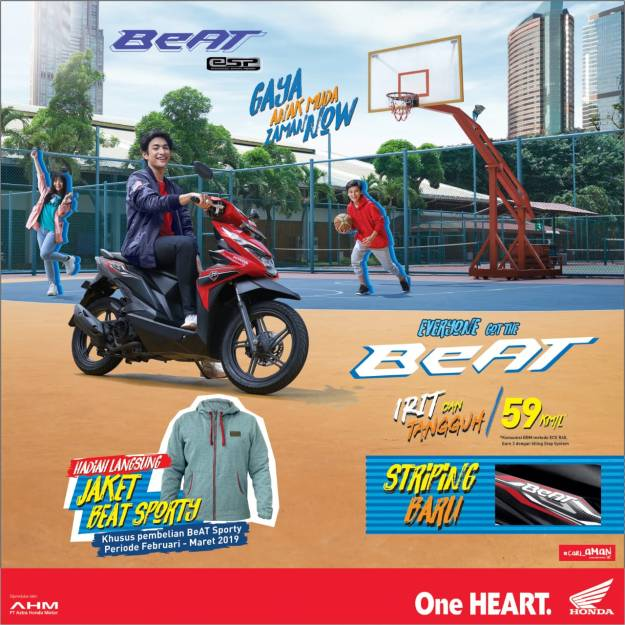 Program Beat Sporty eSP 2019