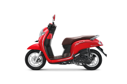 SCOOPY 2019_MATTE RED