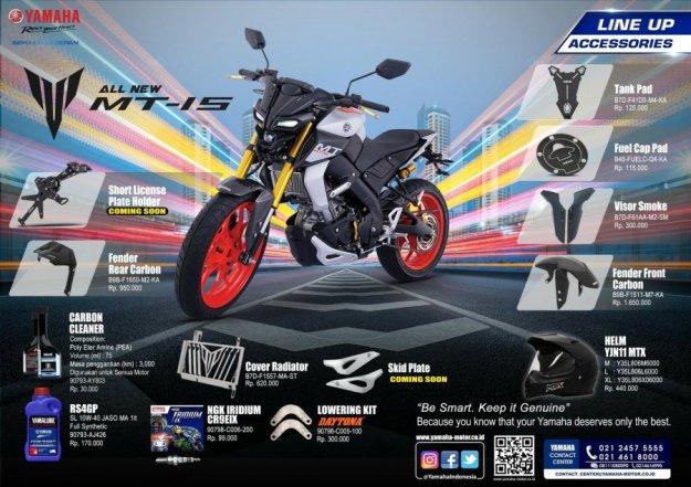 Aksesoris Resmi Yamaha MT-15 (1)